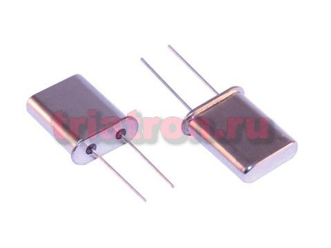 27,125000 МГц HC-49U 30ppm 16пф кварцевый резонатор 49U27.125