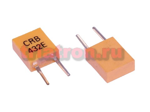 432KHz CRB керамич. резонатор для пульта TV