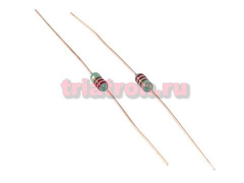 LGA 0307 /EC-24 220uH 10% 75mA индуктивность лента аксиальные вывода LGA0307221KP52E