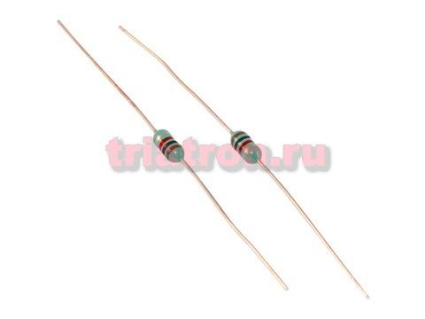 LGA 0307 /EC-24 1000uH 10% 40mA индуктивность лента аксиальные вывода LGA0307-102KP52E