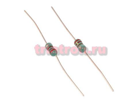 0410 220uH 10% 155mA индуктивность лента аксиальные вывода LGA0410-221KP52E