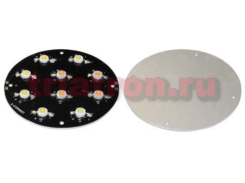 CPM10-500CY590 Желтый 10Вт 500mA 140° 180lm мощный светодиод