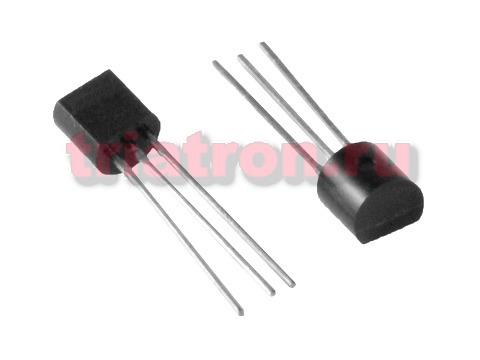 78L08 (+8V/0,1A) TO-92 стабилизатор напряжения