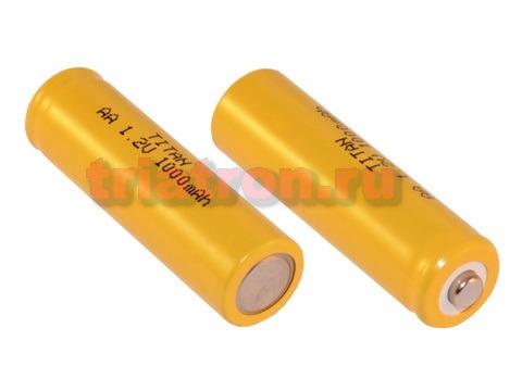 AA1000 (1,2V,1000mAh) 50.0x14.5mm Ni-CD аккумулятор бытовой