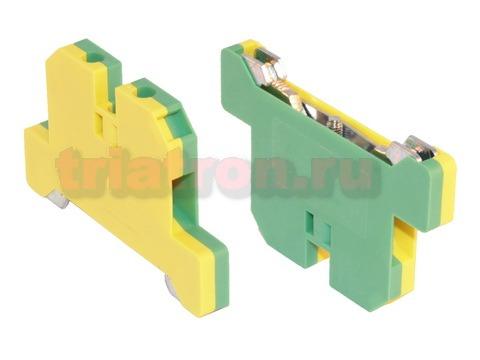 MK2.5 PE 01P 1Y 00A(H) клемма на дин- рейку