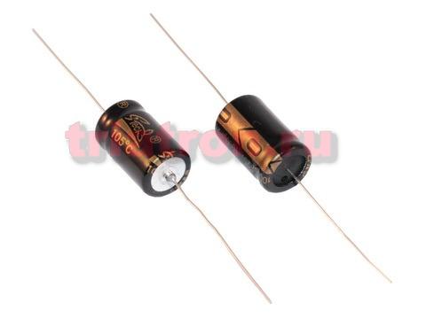 100мкф 100в AHX 105° (13Х21) 20% конденсатор SUPERTECH AXH101M2A1321B