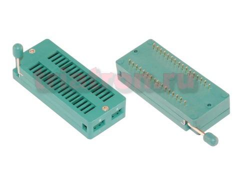 DS1043-32 шаг 2.54мм ZIF разъем панель универсальная 32 вывода CONNFLY