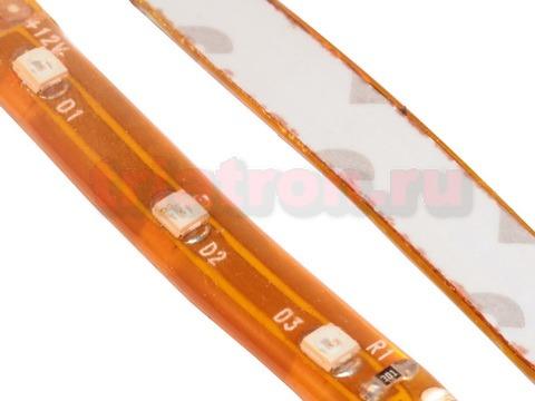 3528 UYC-60-12V,24W,120°, желтый, влагозащ., светодиодная лента, 5 метров