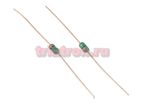 LGA 0307- 560J 5% 56uH 105mA индуктивность лента аксиальные вывода