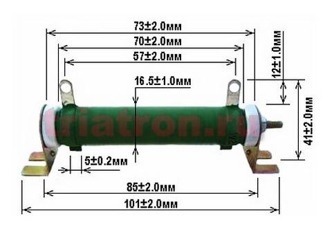 1,8ком 5% DDR-25W С5-35В проволочный резистор