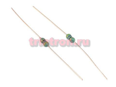 LGA 0307- 470J 5% 47uH 110mA индуктивность лента аксиальные вывода