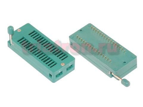 KLS1-108-32-D=15,24 шаг 2.54мм ZIF разъем панель универсальная 32 вывода KLS