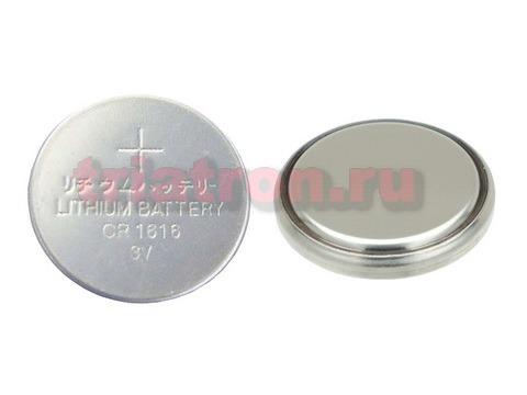 CR1616 (3V) эл. питания дисковый