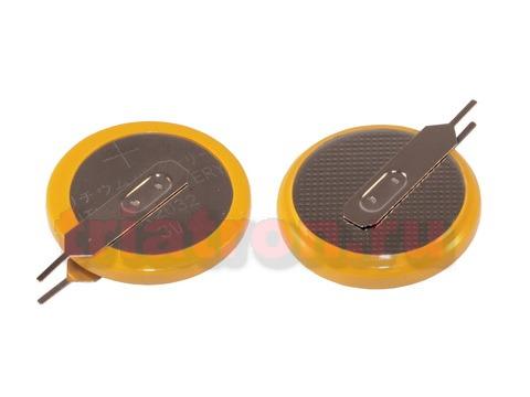 CR2032/1VC4, (3V) 3.2мм, 2 вывода, вертик. эл. питания дисковый