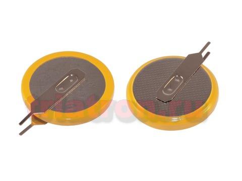 CR2032/1VC3, (3V) 10.0мм, 2 вывода, вертик. эл. питания дисковый