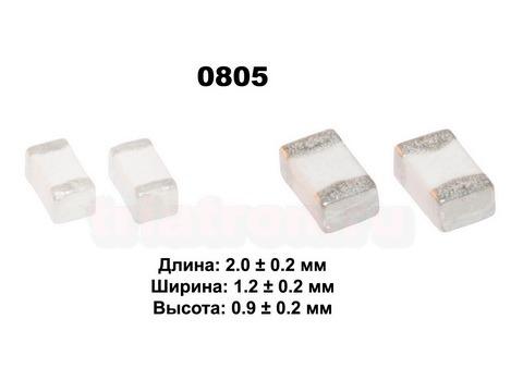 0805 0.0022мкГн ±0,0003uH Чип кер. индуктивность VHF201209H2N2ST