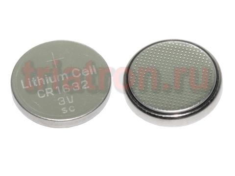 CR1632 (3V) эл. питания дисковый