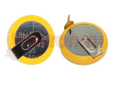 CR1632/1HF, (3V) 16мм, 2 вывода, гориз. эл. питания дисковый