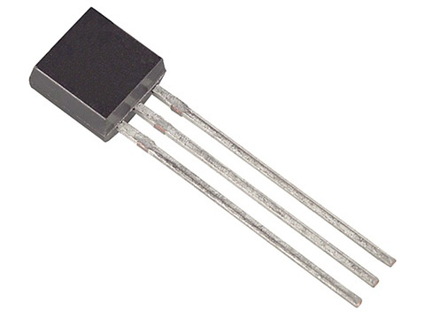 2N7000, TO92, MOSFET транзистор, ST