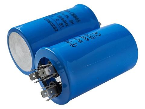 35+2,0мкф 450VAC 5% (50Х85) CBB65-C (3 выв.) клеммы пусковой конденсатор TITAN