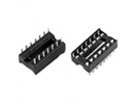 Панели для микросхем, SCS, SCL, DIP, шаг 2.54мм